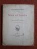 Balzac en Bretagne - Cinq lettres inédites de l'auteur des Chouans . DU PONTAVICE DE HEUSSEY R.