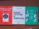 D'Algesiras à Aix-les-Bains ou la guerre des mots. Tomes I, II, III. LAHLOU-ALAOUI Zakia