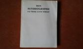 Mon autobiographie. WRIGHT Frank Lloyd