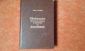 Dictionnaire des ouvrages anonymes et pseudonymes du Dauphiné. MAIGNIEN Edmond