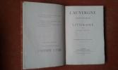 L'Auvergne artistique et littéraire . VITOUX Georges