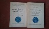 La Seconde République dans la région alpine. Etude politique et sociale. Tome 1 : Les Notables (vers 1845 - fin 1848) - Tome 2 : Les Paysans ...