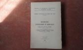 Mission scientifique au Tassili des Ajjer (1949 et 1952) - I. Recherches zoologiques et médicales . BERNARD F. (sous la direction de)