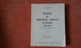 Histoire du Mouvement Familial en France (1896-1939) - Tome 1 . TALMY Robert