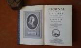Journal de ce qui s'est passé à la Tour du Temple pendant la captivité de Louis XIV, Roi de France. Dit Journal de Cléry . CLERY Jean-Baptiste