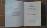 """Femmes et Féminisme. Virginia Woolf - Simone de Beauvoir - Betty Friedan. Suivi de """"Le cahier interdit"""" de Alba de Cespédès . DUNANT Ghislaine - ..."""