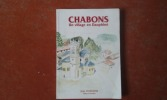 Châbons - Un village en Dauphiné . VAUDAINE Jean