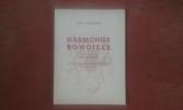 Harmonies Bônoises - Recueil de poèmes méditerranéens. Augmenté d'un Glossaire . LAFOURCADE Louis