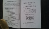 Histoire des Camisards. Tome 2 . Collectif
