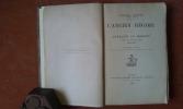 L'Ancien Régime en Lorraine et Barrois d'après des documents inédits (1698-1789) . MATHIEU François Désiré (Cardinal)