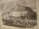 HISTOIRE DE LA GUERRE ENTRE LA FRANCE ET LA PRUSSE  1870-1871. ROME E.F.