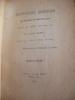 GRIFFONNAGES QUOTIDIENS D'UN BOURGEOIS DU QUARTIER LATIN PENDANT LES ANNEES 1869, 1870 1871. DABOT HENRI