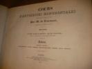 COURS D'ANTIQUITES MONUMENTALES- HISTOIRE DE L'ART DANS L'OUEST DE LA FRANCE- ATLAS (SIXIEME PARTIE)- FONTS BAPTISMAUX-AUTELS-TOMBEAUX-PEINTURE SUR ...