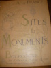 SITES ET MONUMENTS- BOURGOGNE( AIN-COTE D'OR- SAONE ET LOIRE). TOURING CLUB DE FRANCE