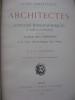 ARCHITECTES-NOTICES BIOGRAPHIQUES ET BIBLIOGRAPHIQUES.. [LYON ARTISTIQUE] CHARVET E.-L.-G.
