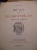 HISTOIRE DE VILLEFRANCHE CAPITALE DU BEAUJOLAIS. BALLOFFET JOSEPH