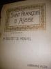 SAINT FRANCOIS D'ASSISE. BOUTET DE MONTVEL