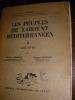 LES PEUPLES DE L'ORIENT MEDITERRANEEN - TOME II : L'EGYPTE. DRIOTON S.- VANDIER J.