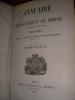 ANNUAIRE DU DEPARTEMENT DU RHONE ET DU RESSORT DE LA COUR IMPERIALE POUR 1857. (ANNEE 1857]