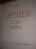 ORPHEE- FRAGMENTS DES METAMORPHOSES. OVIDE - POGNON EDMOND-[REYNOLD ARNOULD]