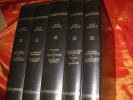 OEUVRES COMPLETES ILLUSTREES EN 5 VOLUMES. COCTEAU JEAN