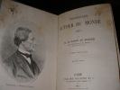 PROMENADE AUTOUR DU MONDE 1871 (2 TOMES). HUBNER Baron de