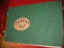 VILLEFRANCHE EN BEAUJOLAIS- CLASSE 1937. . [CONSCRITS]