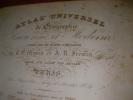 ATLAS UNIVERSEL DE GEOGRAPHIE ANCIENNE ET MODERNE. MONIN C.V.- FREMIN A.R.
