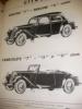 MODELES ET SILHOUETTES. CATALOGUE AUTOMOBILE