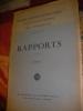RAPPORTS TOME 1. PREMIER CONGRES INTERNATIONAL DE LA NAVIGATION AERIENNE PARIS 15-25 NOVEMBRE 1921 COLLECTIF