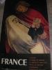 FRANCE: L'ALSACE: LE MUSEE DE COLMAR- LA VIERGE ET St. JEAN- DETAIL DU RETABLE D'ISSENHEIM: GRUNEWALD(1510-1515). (AFFICHE ORIGINALE] MINISTERE DES ...