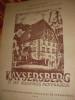 KAYSERSBERG ET SES SOUVENIRS MOYENAGEUX. HERZOG E.