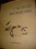 L'ACTIVITE MIGRATOIRE. OBERTHUR J.