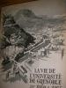 LA VIE DE L'UNIVERSITE DE GRENOBLE DE 1948 A 1954. COLLECTIF