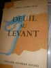DEUIL AU LEVANT. FABRE-LUCE ALFRED