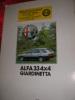 ALFA 33 4x4 GIARDINETTA. AUTOMOBILE - ALFA-ROMEO