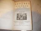 LETTRES DE CICERON A SES AMISTRADUITES EN FRANCAIS ,LE LATIN A COTE, SUIVANT L'EDITION DE GRAEVIUS (TOME III). CICERON
