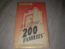 LE RETOUR DES 200 FAMILLES. COSTON HENRY