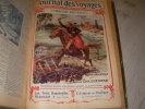 JOURNAL DES VOYAGES ET DES AVENTURES DE TERRE ET DE MER 1908-1909 - 50 NUMEROS RELIES. COLLECTIF