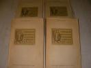 MANUEL DE L'AMATEUR D'ESTAMPES DU XIX° ET DU XX°SIECLE 1801-1924  (4 VOLUMES). DELTEIL LOYS