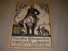 EXPOSITION RETROSPECTIVE DES MARECHAUX DE FRANCE DU 11 MAI AU 15 JUILLET 1922. COLLECTIF