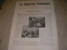 LA DEPECHE COLONIALE N°11 (4°ANNEE) 15 JUIN 1904 ALGERIE-MAROC. [TROUILLET J.-P.]ROBER-RAYNAUD