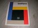 BAUHAUS 1919-1933. DROSTE MAGDALENA- BAUHAUS ARCHIV