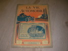 LA VIE AUTOMOBILE N°833  21° ANNEE  10 SEPTEMBRE 1925. . [FAROUX CHARLES] COLLECTIF