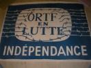 ORTF EN LUTTE- INDEPENDANCE. AFFICHE MAI 68