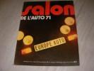 EUROPE AUTO-SALON DE L'AUTO 71. COLLECTIF
