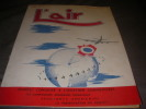 "REVUE ""L'AIR"" n°583 - 5 OCTOBRE 1946. COLLECTIF"