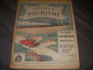 INDICATEUR DU TOURISME 1913- PREMIERE EDITION- FASCICULE V DE PARIS AUX CEVENNES ET GORGES DU TARN. [TOURISME]