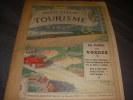 INDICATEUR DU TOURISME 1913- PREMIERE EDITION- FASCICULE II bis -  DE PARIS AUX ALPES DAUPHINE BRIANCONNAIS. [TOURISME]