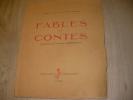 FABLES ET CONTES. HENRIETTE DELAYE- DIDIER-DELORME-[JOSSERAND LOUIS]